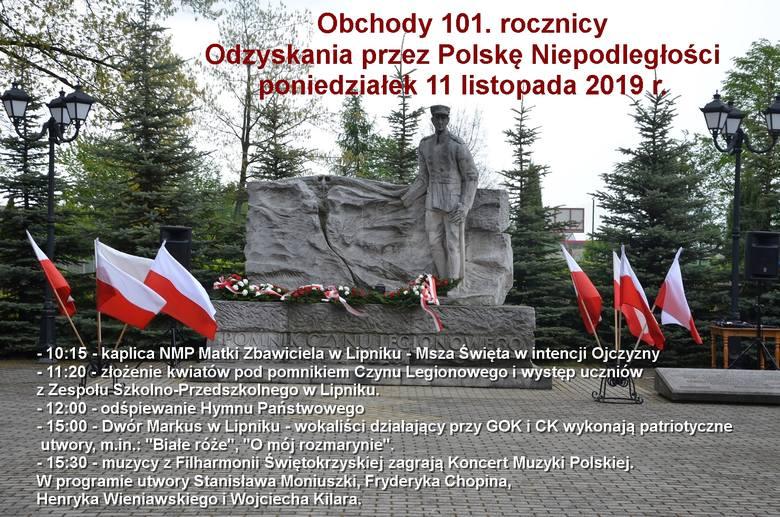 Narodowe Święto Niepodległości w gminie Lipnik. Co będzie się działo?