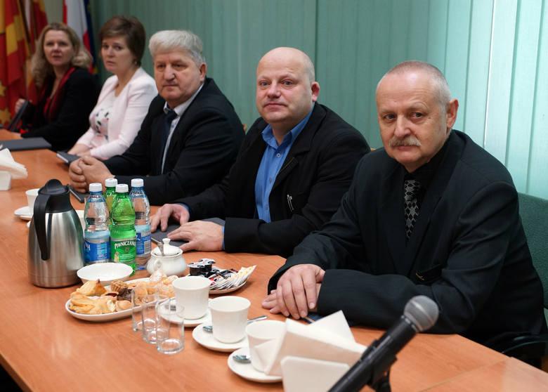 Starosta nowosądecki gościł na spotkaniu noworocznym sołtysów z całej Sądecczyzny [ZDJĘCIA]