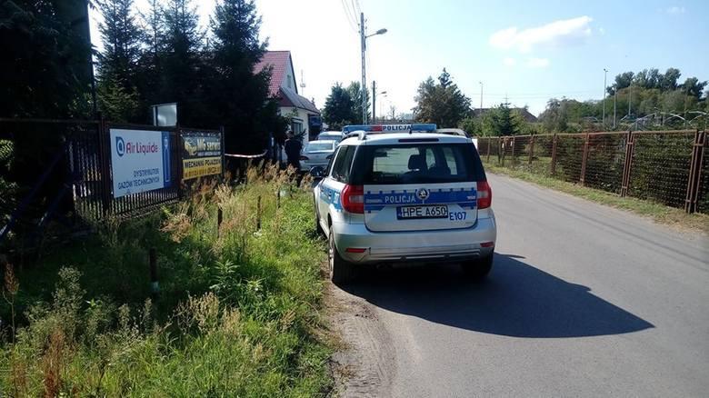 Zabójstwo Ukrainki w pralni w Gorzowie. 26-letni Paweł R. zastrzelił Kristinę. Tak wyglądały działania policji chwilę po zbrodni.