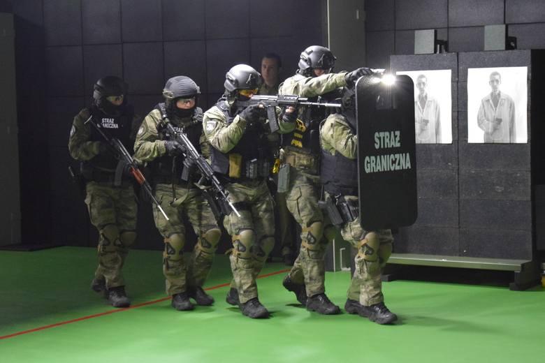 Osiem milionów złotych kosztowała budowa strzelnicy Bieszczadzkiego Oddziału Straży Granicznej. Jest najnowocześniejsza w regionie oraz w Straży Granicznej