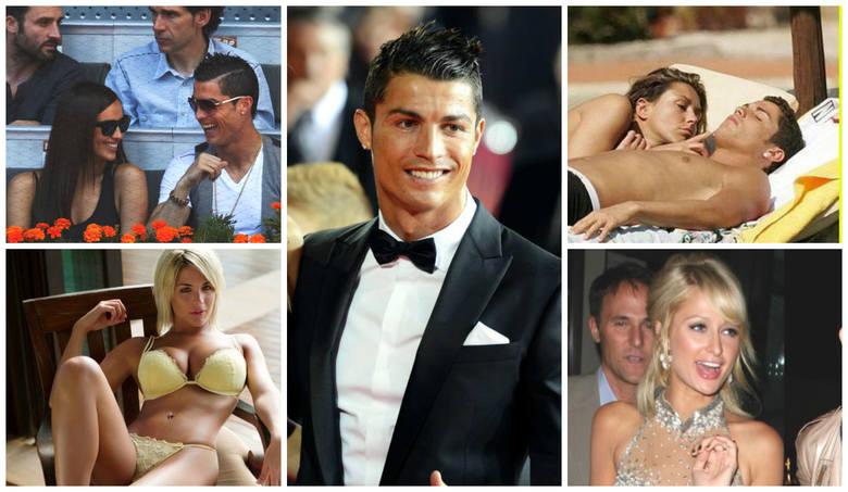 Dziewczyny Cristiano Ronaldo. Wszystkie podboje CR7 [ZDJĘCIA]
