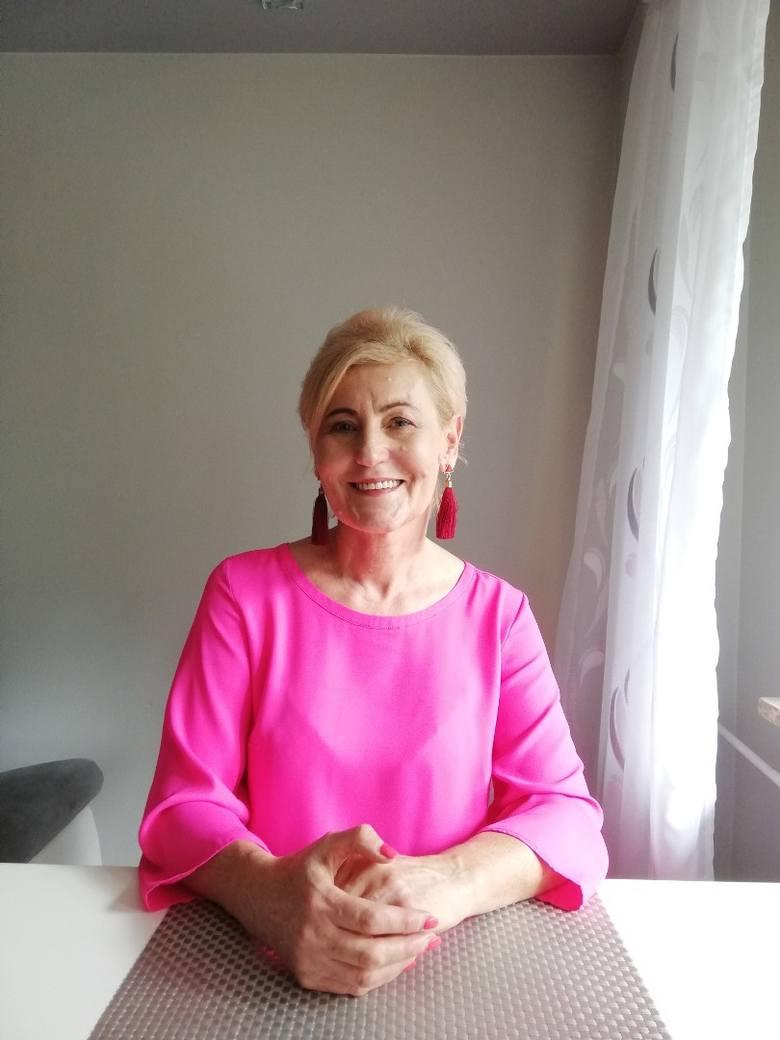 GENOWEFA GÓRECKA, Nauczyciel klas IV-VIIIW tym roku mija 37 lat odkąd pani Genowefa Górecka niesie kaganek oświaty. - Jestem nauczycielką przyrody i