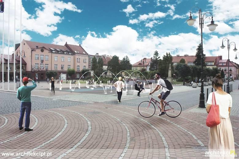 Wielkie zmiany na Starym Mieście w Żorach: Przebudowa fontanny i dwóch ulic