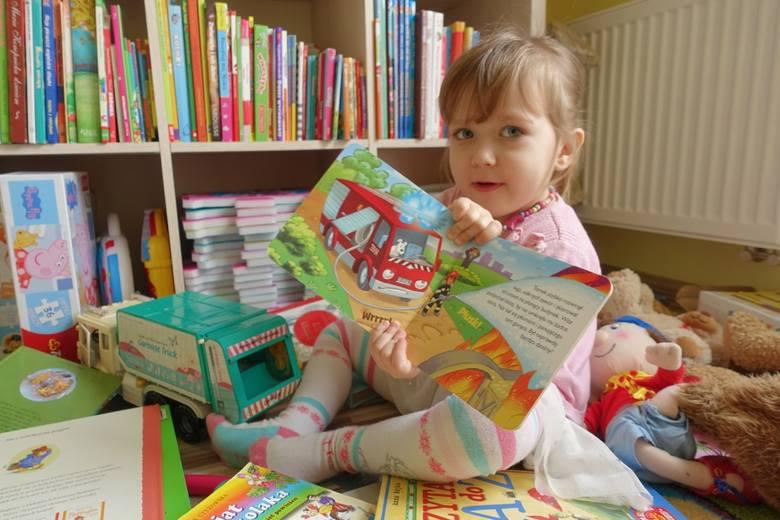 dziecko, czytanie książek, rozwijanie wyobraźni