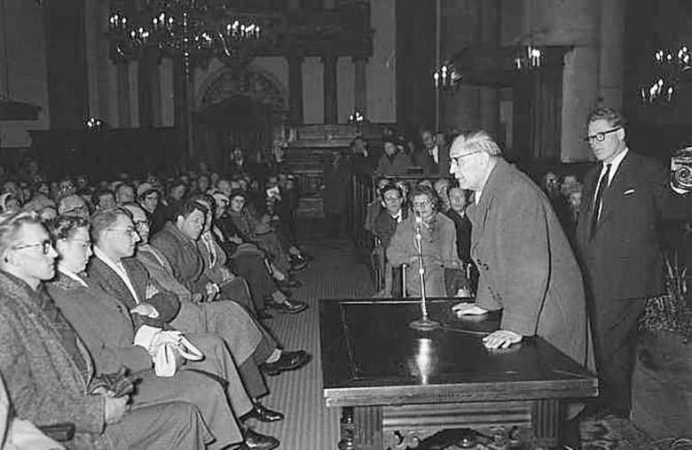 Wykład pastora Niemollera w Amsterdamie, 18 stycznia 1959 r.