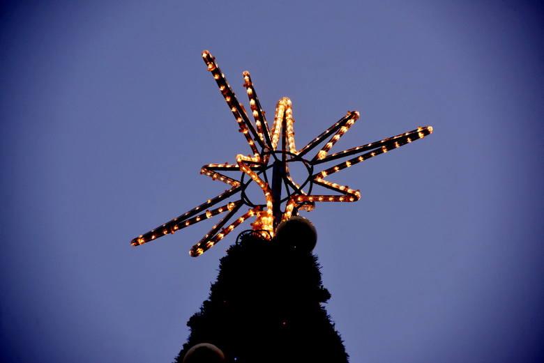Świąteczne ozdoby w Zielonej Górze