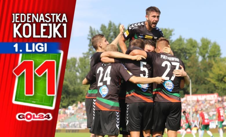 Stal nowym liderem. Jedenastka 6. kolejki Fortuna 1 Ligi GOL24.pl!