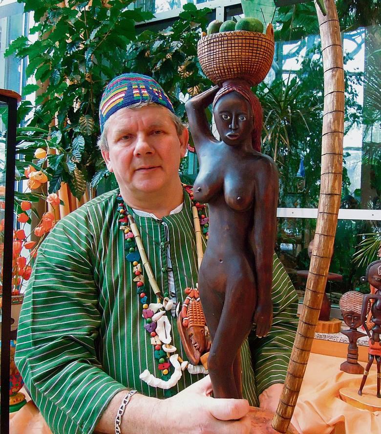 Zbigniew Błoński z Łodzi ma niezwykłe hobby