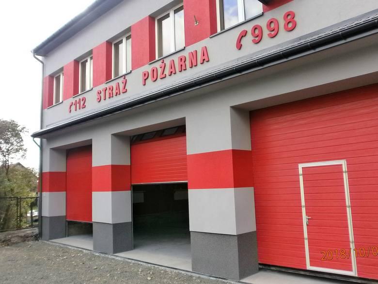 W gminie Krzeszowice zostały wyremontowane dwie remizy strażackie