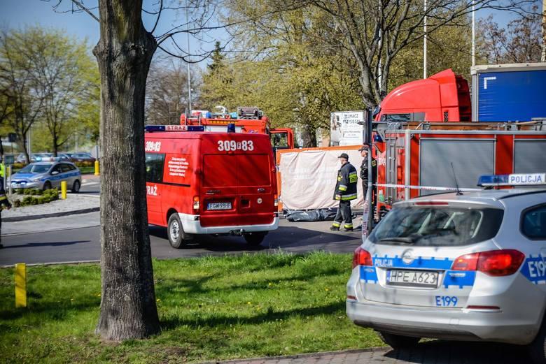 Do wypadku doszło w centrum Kostrzyna nad Odrą.