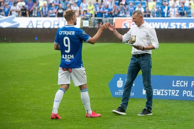 Lech Poznań zakończył sezon na drugim miejscu w tabeli. Lecz także w najważniejszych, indywidualnych klasyfikacjach piłkarze Kolejorza, zajmowali czołowe