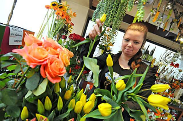 Wiosną rządzą tulipany
