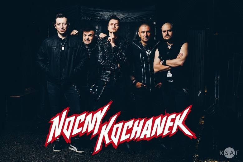 Nocny Kochanek, bardzo popularny zespół heavy metalowy zagra w sobotę 7 grudnia koncert w Koszalinie! Bilety na ich występ w klubie G38 już dawno zostały