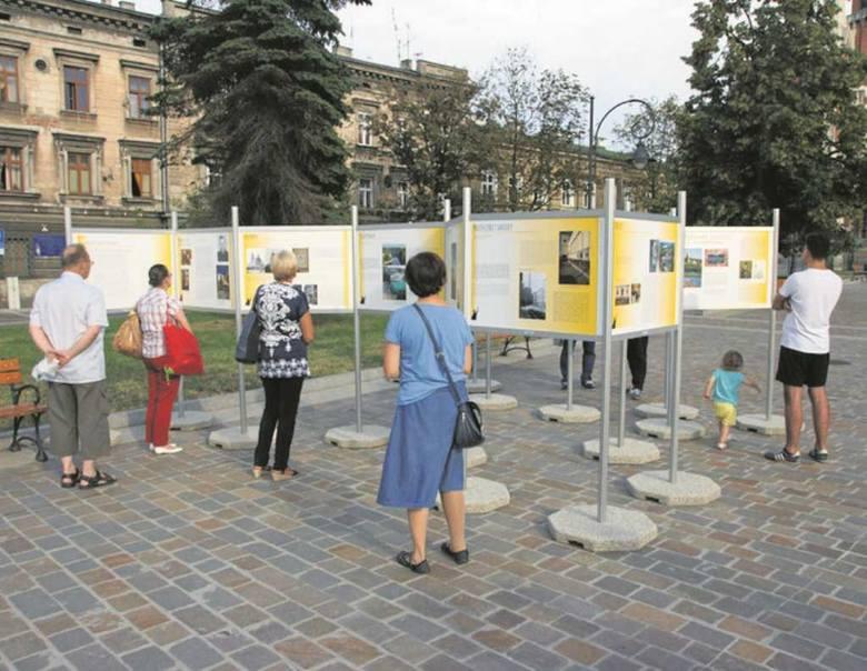 W ramach ŚDM można oglądać m.in. wystawę na Rynku Podgórskim<br />