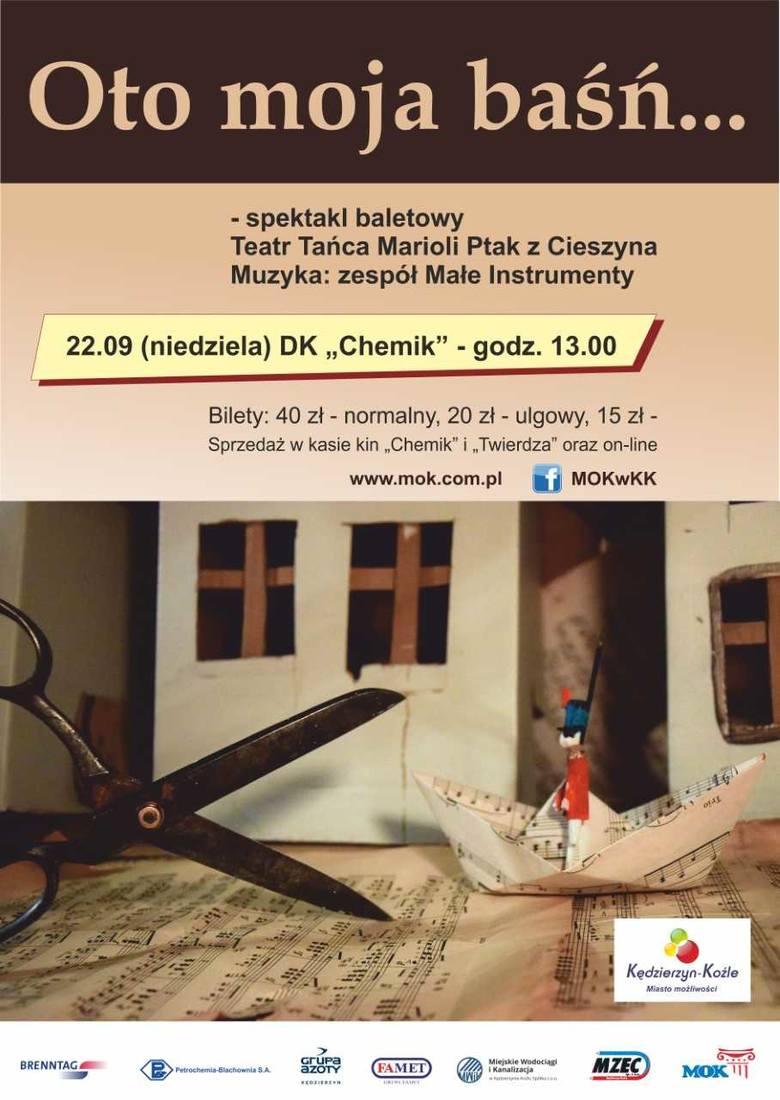 Imprezy Kędzierzyn-Koźle. Wrzesień 2019. Jakie bedą koncerty, festiwale, wydarzenia i filmy w kinie?