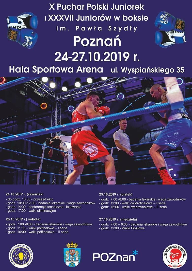 Poznań: Dużo boksu w Arenie. Walczą juniorzy i juniorki