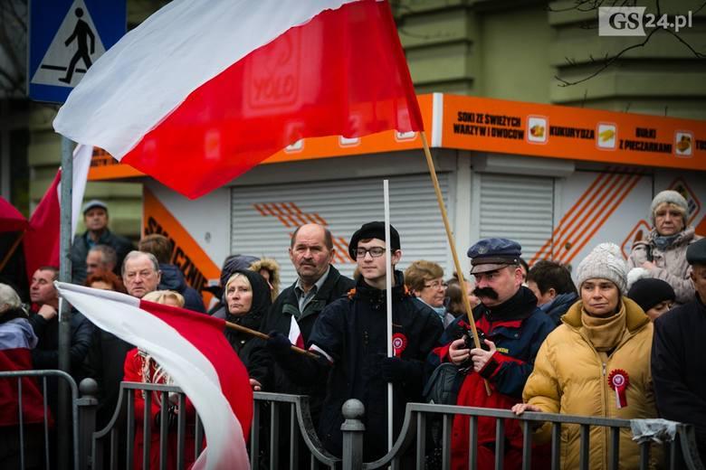 Szczecin. Oficjalne obchody 100. rocznicy odzyskania przez Polskę niepodległości [ZDJĘCIA]