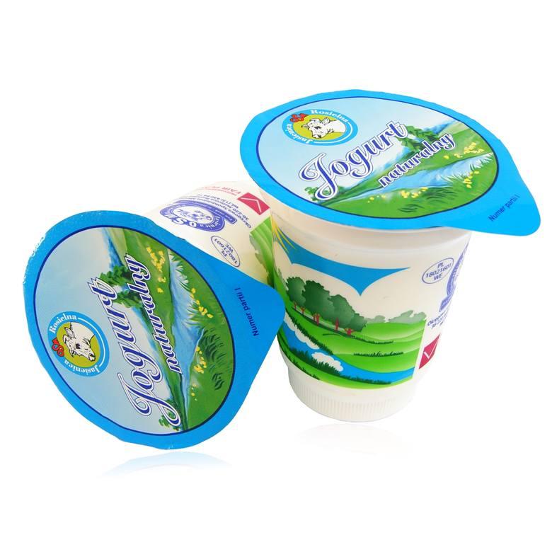 Nasze Dobre Podkarpackie 2019. Jogurt naturalny i jogurt naturalny ekologiczny z Jasienicy Rosielnej