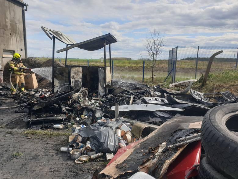 Pożar zakładu motoryzacyjnego w miejscowości Topole w powiecie chojnickim. Z ogniem walczyło 10 zastępów straży pożarnej.Smaki Kujaw i Pomorza sezon