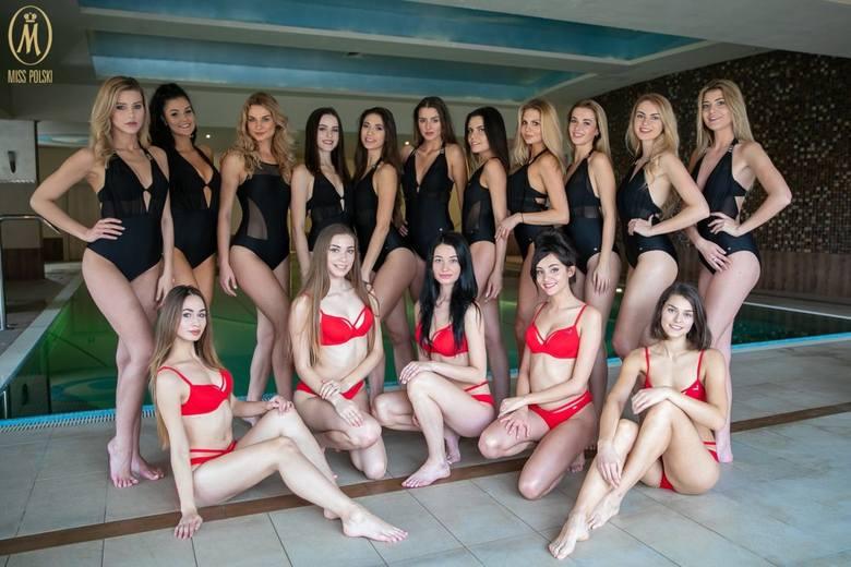 Miss Polski 2018. Zobacz dziewczyny w kostiumach kąpielowych przed finałem w Krynicy [ZDJĘCIA]