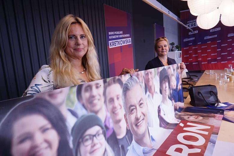 Zdaniem poznańskiej posłanki Katarzyny Kretkowskiej, kandydat Lewicy Robert Biedroń był aktywny podczas kampanii wyborczej.