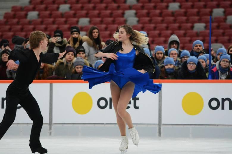 Tak wygląda lodowisko na stadionie w Warszawie czyli Zimowy Narodowy