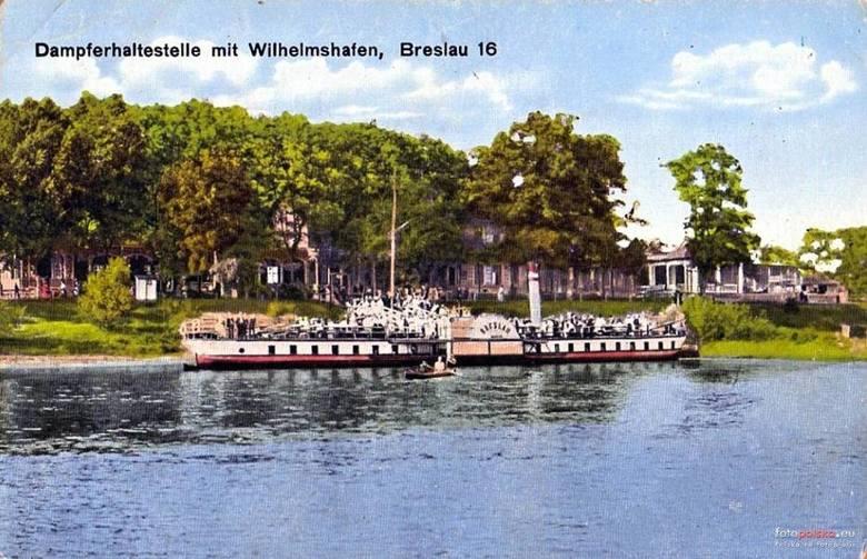 Prezydent Sutryk chce tramwaju wodnego. Przed wojną na Odrze niemal tworzyły się korki (ZDJĘCIA)