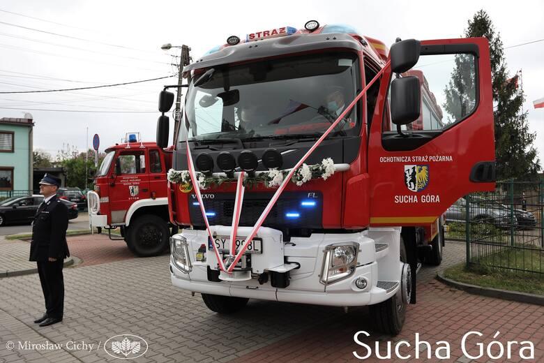 Nie da się ukryć, że nowoczesne wozy strażackie prezentują się rewelacyjnie. Ten należy do OSP Bytom Sucha Góra