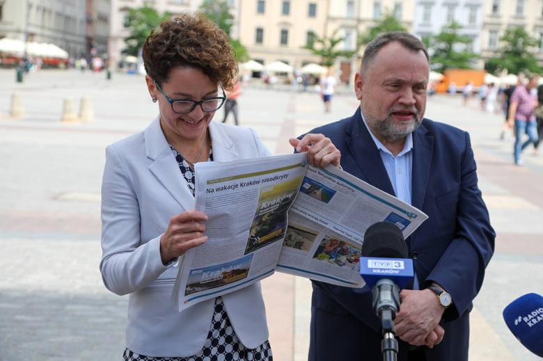 Magdalena Czarzyńska-Jachim, wiceprezydent Sopotu i Andrzej Kulig, zastępca prezydenta Krakowa