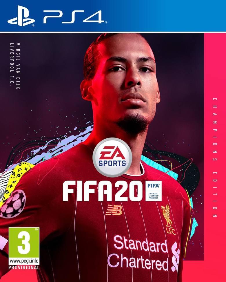 FIFA 20. Virgil van Dijk na okładce edycji mistrzowskiej