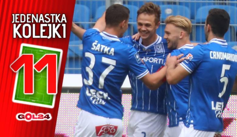 PKO Ekstraklasa. Lech Poznań wygrał po raz trzeci z rzędu. W ostatniej kolejce do wicemistrzostwa Polski wystarczy mu remis. Grupę spadkową może wygrać