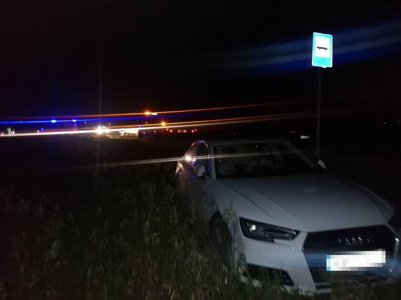 Czołowe zderzenie na ul. Pułtuskiej w Wyszkowie. Karambol trzech aut w Michalinie. 23.11.2020. Zdjęcia