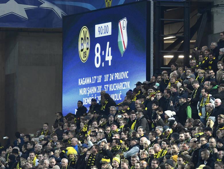 W meczu Borussii z Legią padło 12 bramek
