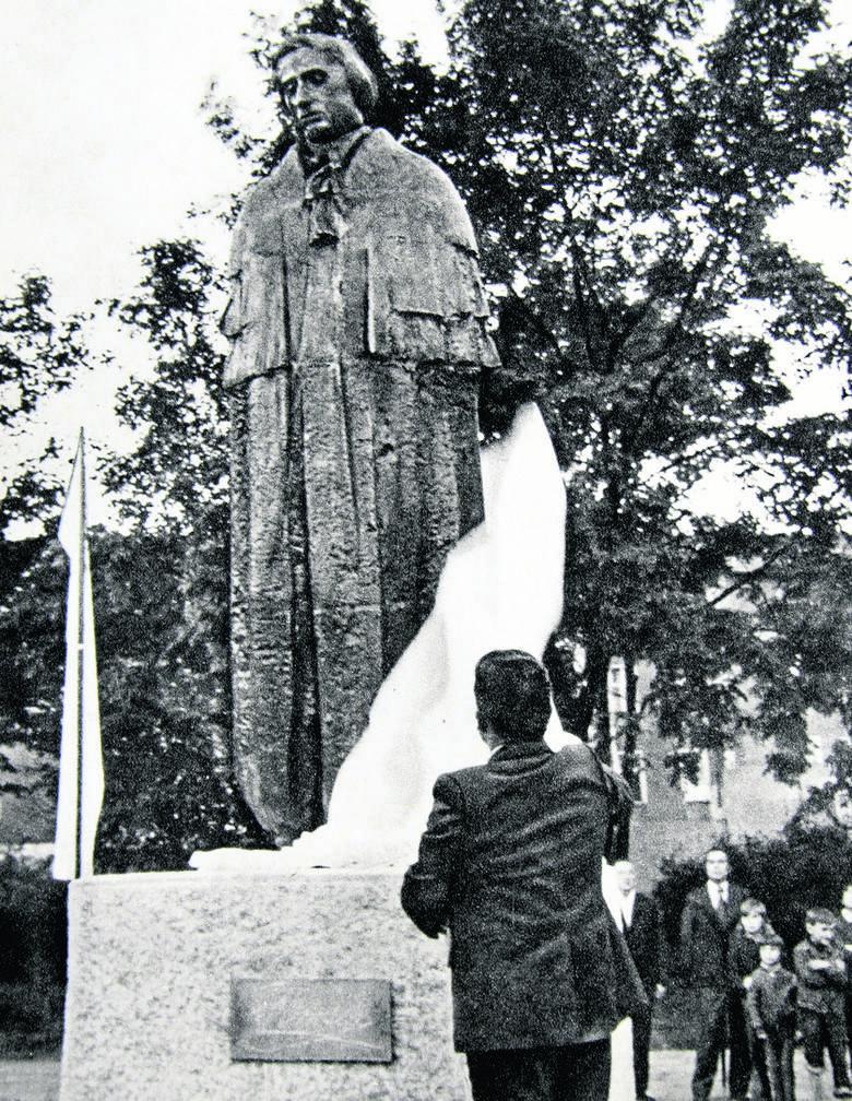 1976 rok. Od lewej: Jerzy Bytnerowicz, Mieczysław Jaroszewicz, Marian Wallek-Walewski, Andrzej Cwojdziński, Włodzimierz Obidowicz