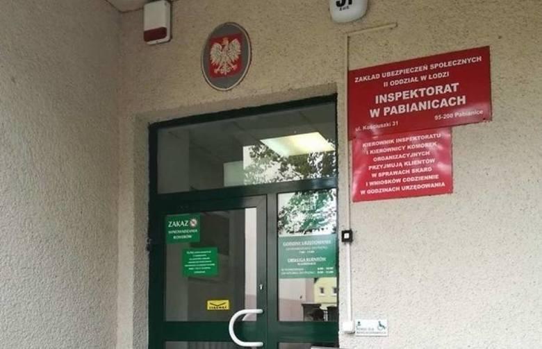 Pabianicki ZUS zamknięty dla petentów. Powód? Sytuacja epidemiczna