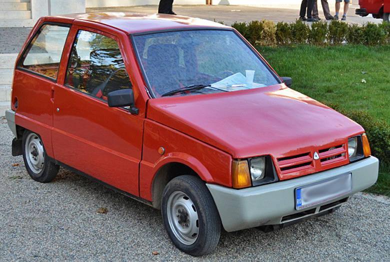 Dacia 500 Lastun (Jaskółka)  z lat 80. była dziełem fabryki w Timisoarze. Miała plastikowe nadwozie i dwucylindrowy silnik. Zbudowano tylko parę tysięcy egzemplarzy