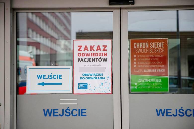 Pracownik szpitala w Zawierciu jest zarażony koronawirusem. Trwa ewakuacja oddziału zakaźnego