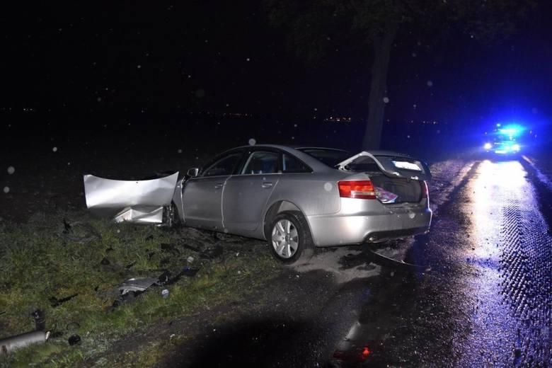 Śmiertelny wypadek pod Wojnowicami. Jednym z aut podróżowała rodzina z 3-letnim dzieckiem