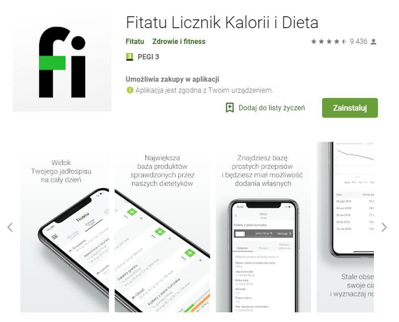 Dzięki ten prostej aplikacji na telefon prowadzenie dzienniczka żywieniowego stanie się niezwykle łatwe. Aplikacja zawiera bogatą bazę produktów i potraw,