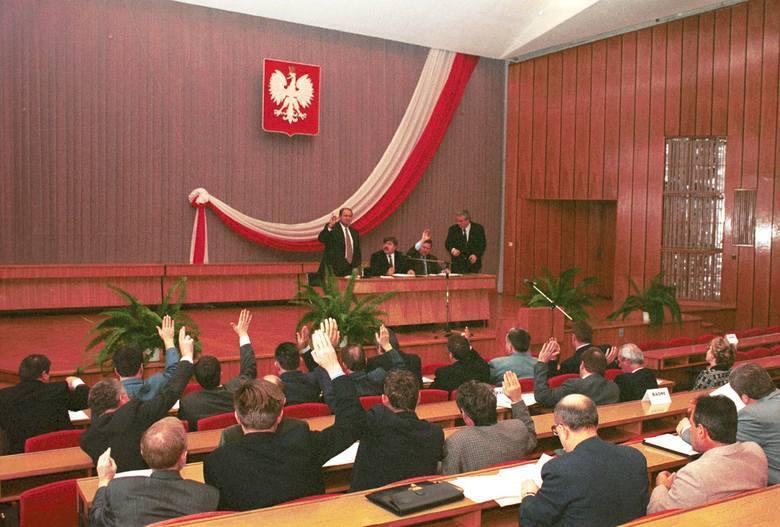 Sesja rady miasta w 2000 roku