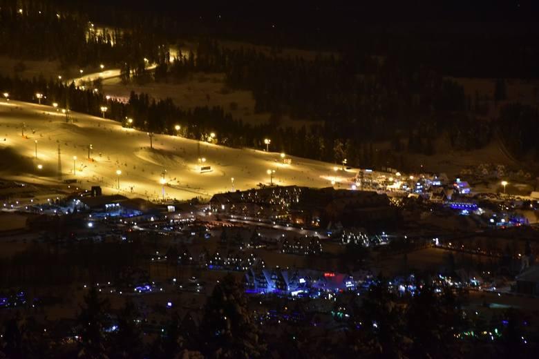 Podhale: Nocą stoki narciarskie wyglądają najpiękniej. Musisz zobaczyć te zdjęcia!