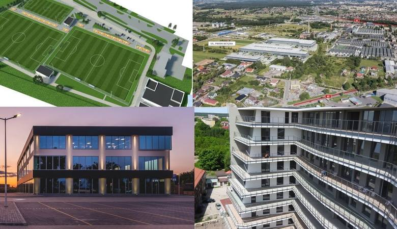 W Białymstoku budują się głównie inwestycje deweloperów mieszkaniowych. Tych jest najwięcej. W stolicy województwa podlaskiego mają również powstać nowe