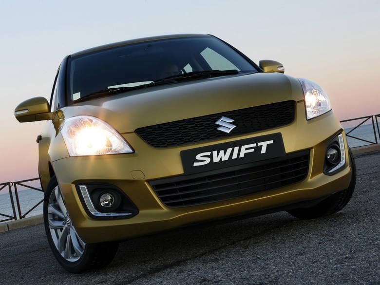 Suzuki Swift do serwisu. Auto może poparzyć kierowcę i pasażera