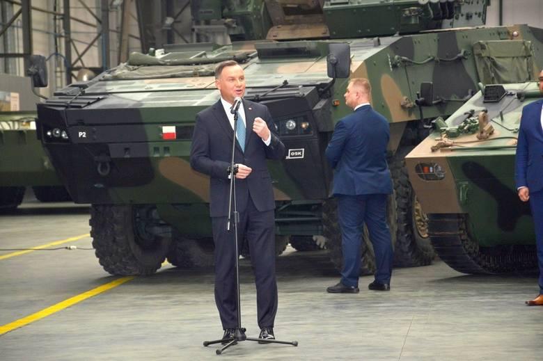 Prezydent Rzeczypospolitej Polskiej Andrzej Duda odwiedził 16 stycznia Hutę Stalowa Wola S.A., należącą do Polskiej Grupy Zbrojeniowej.- Jesteście dzisiaj