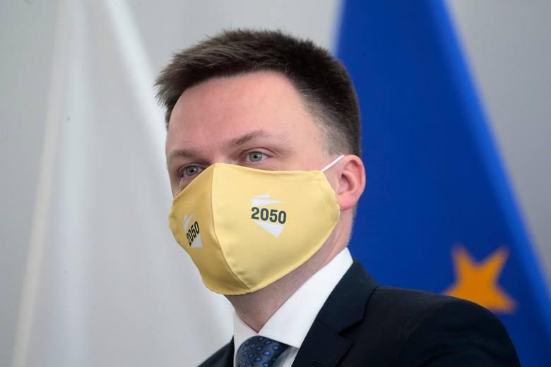 Na drugim miejscu uplasował się Szymon Hołownia - ciesząc się 43,3 proc. poparcia, przy jednoczesnym braku zaufania na poziomie 28,3 proc.
