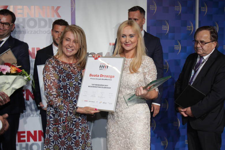 Gala Menedżer Roku 2017 województwa śląskiego