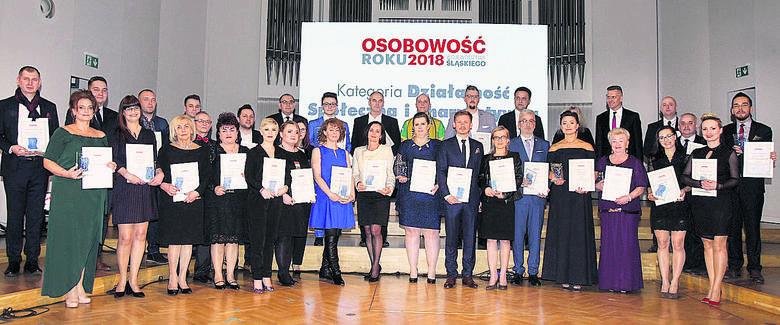 """Oto zwycięzcy z miast i powiatów województwa śląskiego w kategorii """"Działalność społeczna i charytatywna"""".<br /> To wszyscy ci, którym zależy na dobru innych i poświęcają swój czas, by pomagać potrzebującym"""