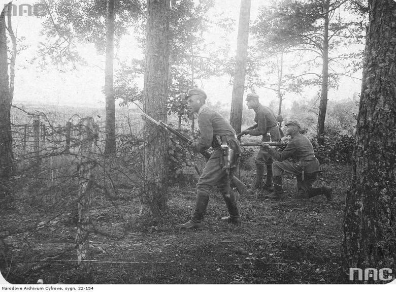 Patrol 3. Batalionu I Pułku piechoty Legionów Polskich w Rudce Sitowieckiej, 1916-08.