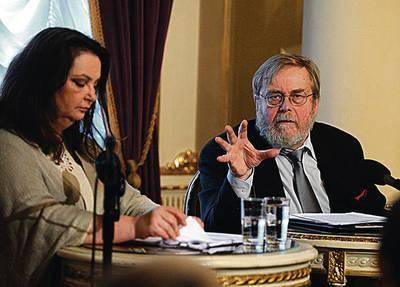 Homera czytali: Anna Dymna i Krzysztof Orzechowski Fot. Anna Kaczmarz