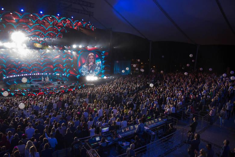 19 08 2017 sopot. top of the top festival w operze lesniej w sopocie n/z publicznosc fot. piotr hukalo / dziennik baltycki / polska press
